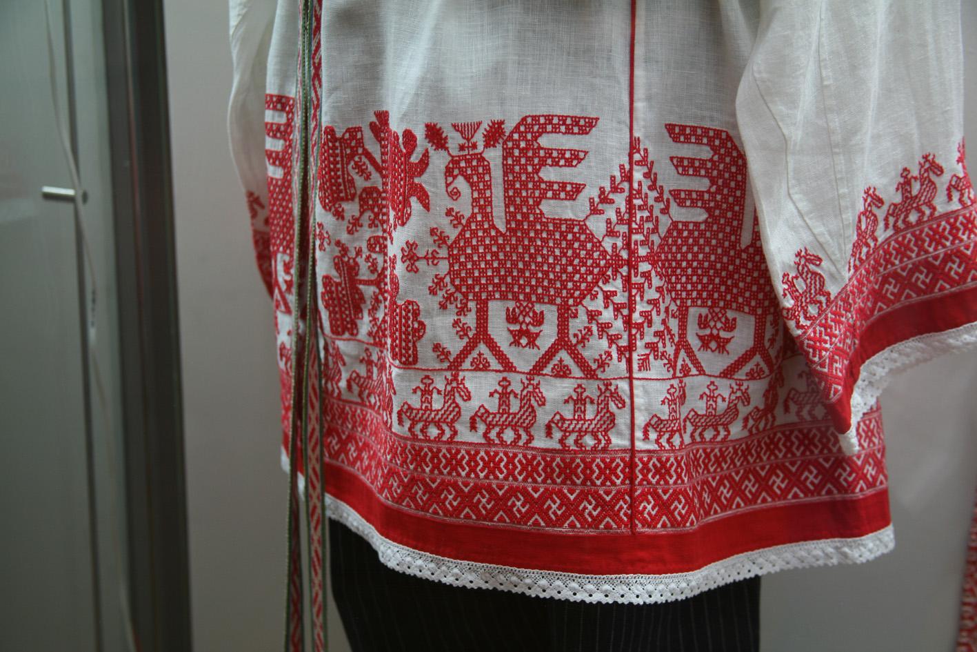 Рязань вышивка на одежде